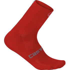 Castelli Quattro 9 Socks red